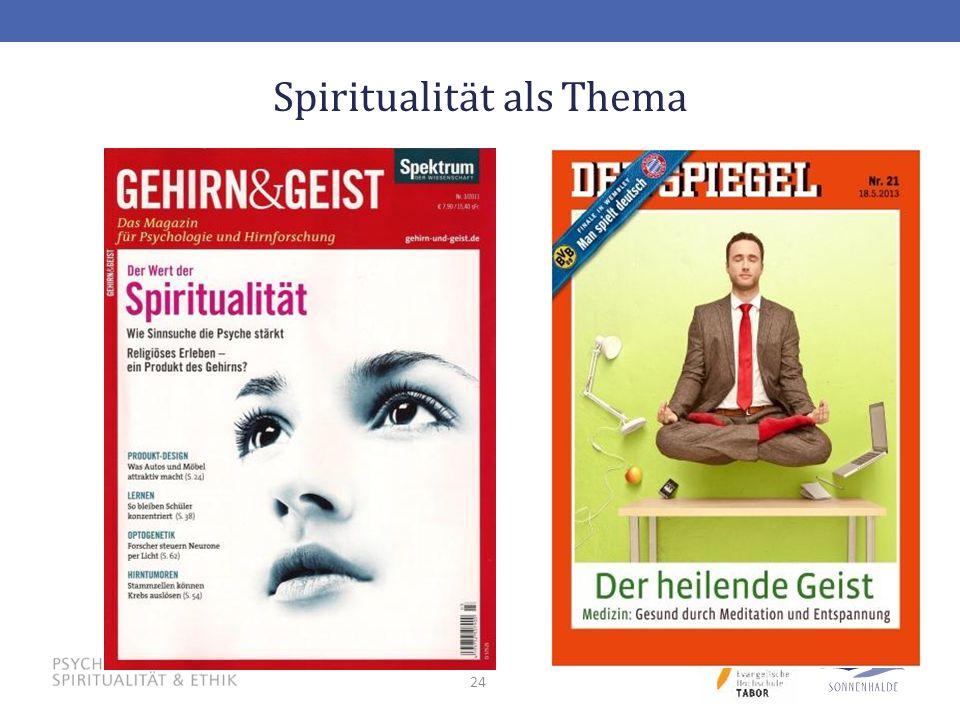 24 Spiritualität als Thema