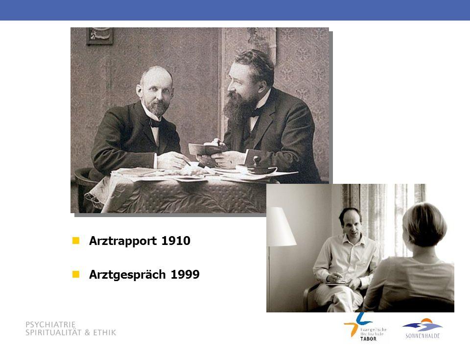 Arztrapport 1910 Arztgespräch 1999