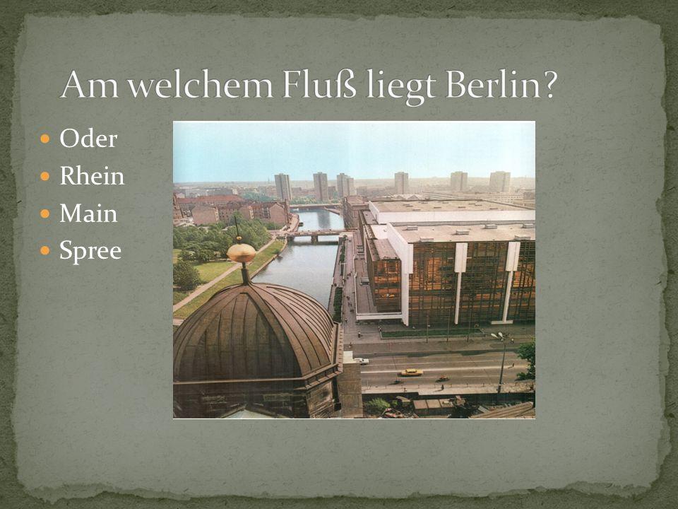 Oder Rhein Main Spree