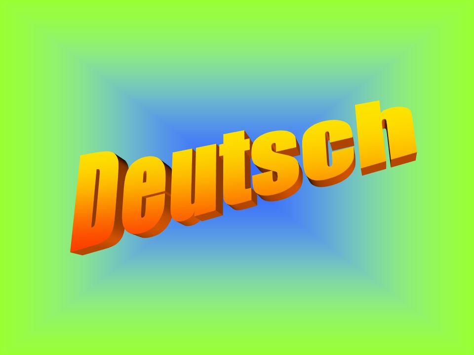 Урок немецкого языка в 3 классе