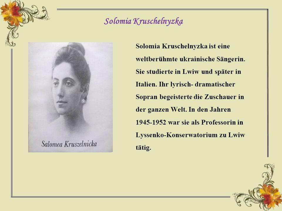B.Lepkyj war ein großer Dichter und Schriftsteller.