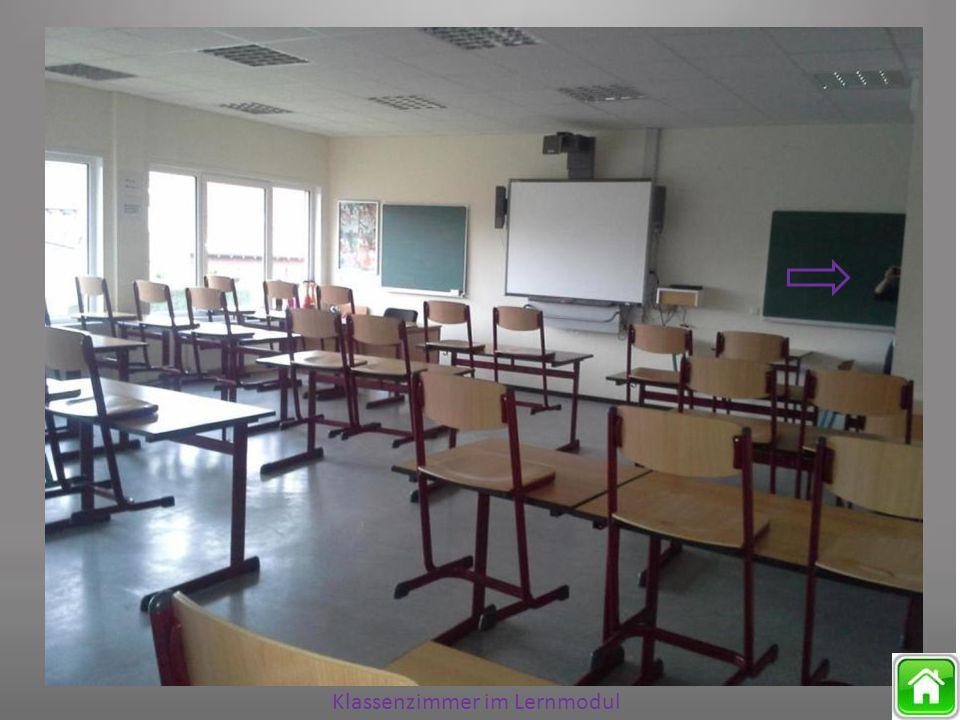 Klassenzimmer im Lernmodul