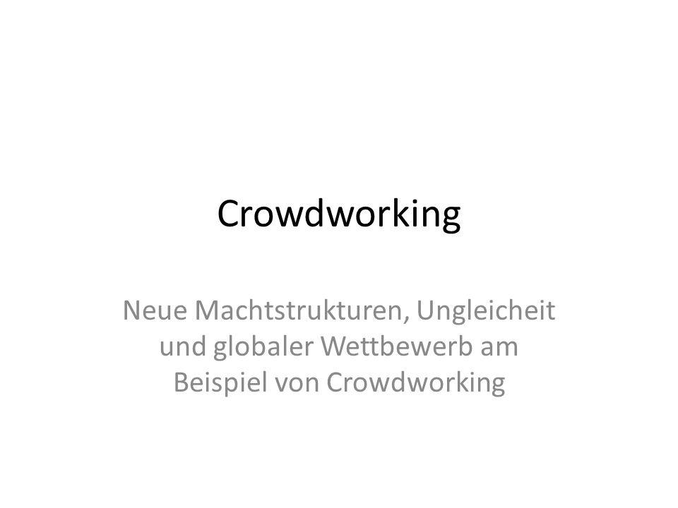 Crowdworker-Genossenschaft Statt uns selbst und unsere Ideen, dem kapitalistischen System zu unterwerfen, sollten wir selbst die Produktionsmittel übernehmen.