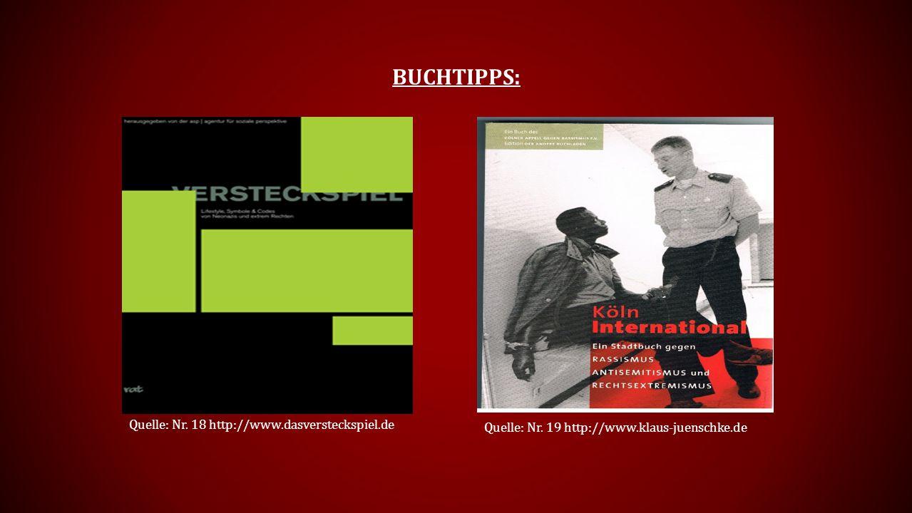 BUCHTIPPS: Quelle: Nr.18 http://www.dasversteckspiel.de Quelle: Nr.