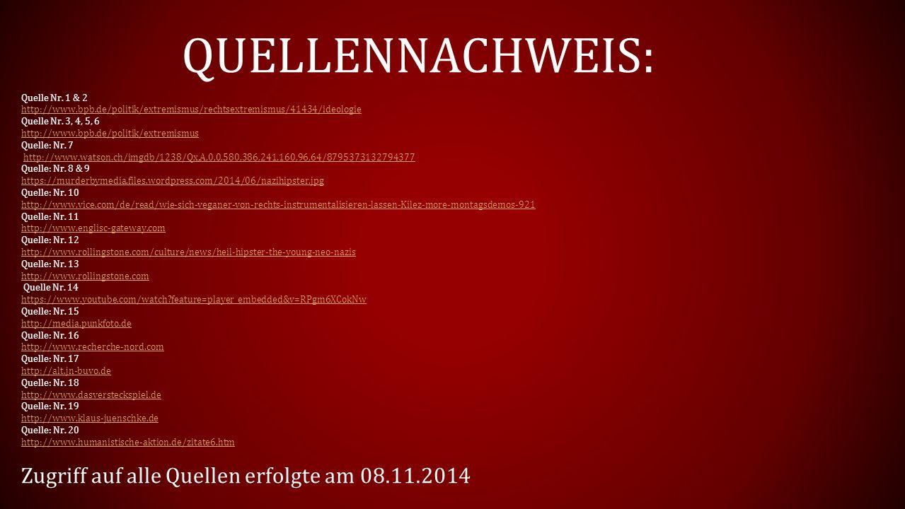 QUELLENNACHWEIS: Quelle Nr.