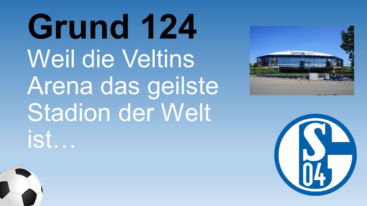 Weil die Veltins Arena das geilste Stadion der Welt ist… Grund 124