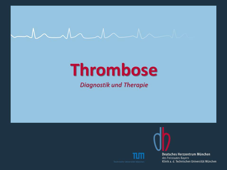 Thrombose Diagnostik und Therapie