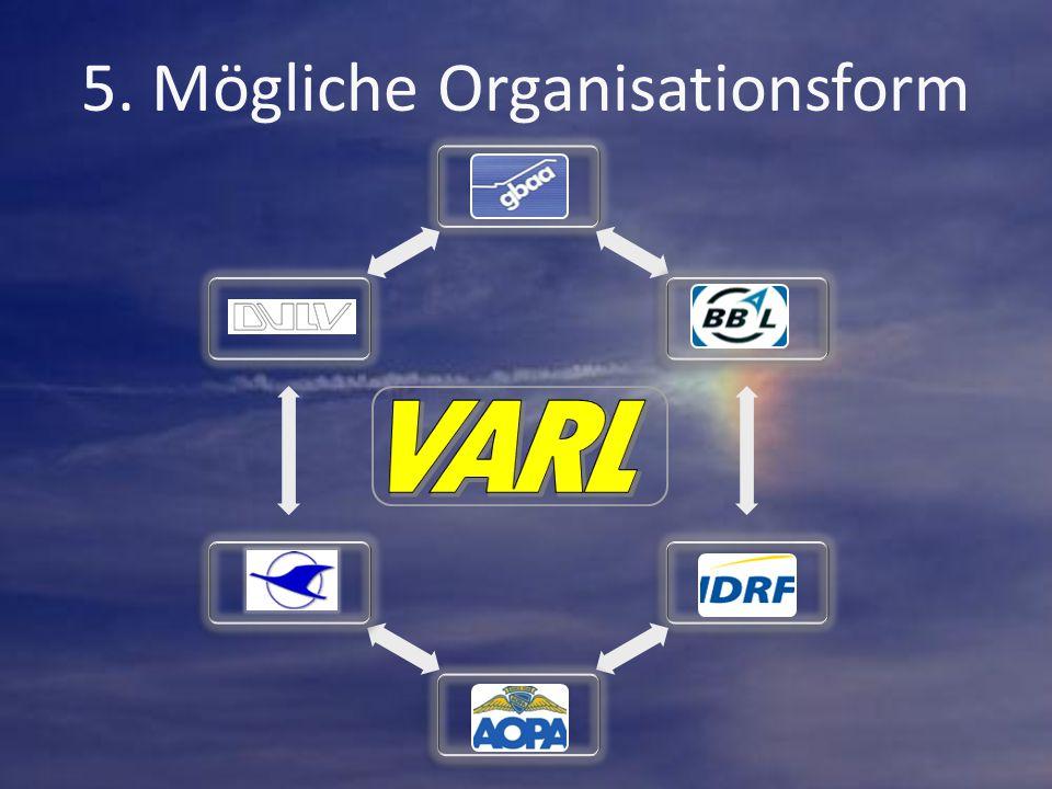 GBAABBALIDRFAOPADAECDULV 5. Mögliche Organisationsform