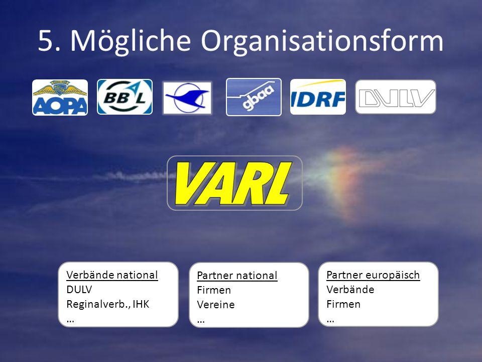 Partner europäisch Verbände Firmen … Verbände national DULV Reginalverb., IHK … Partner national Firmen Vereine …