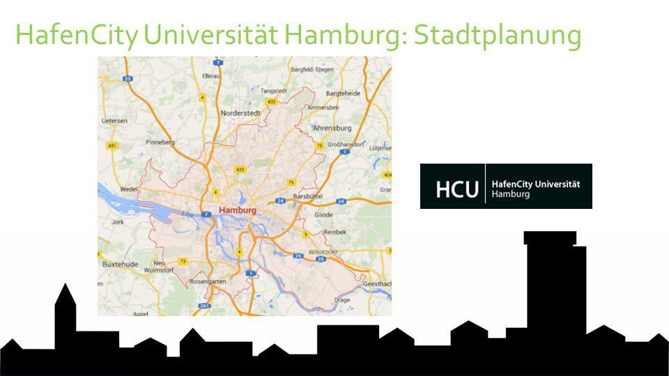 HafenCity Universität Hamburg: Stadtplanung