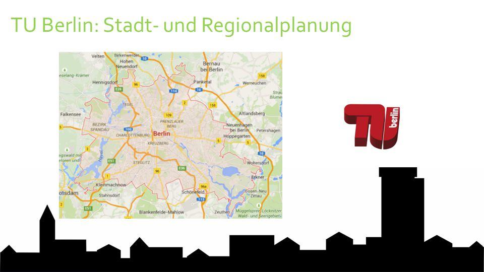 TU Berlin: Stadt- und Regionalplanung