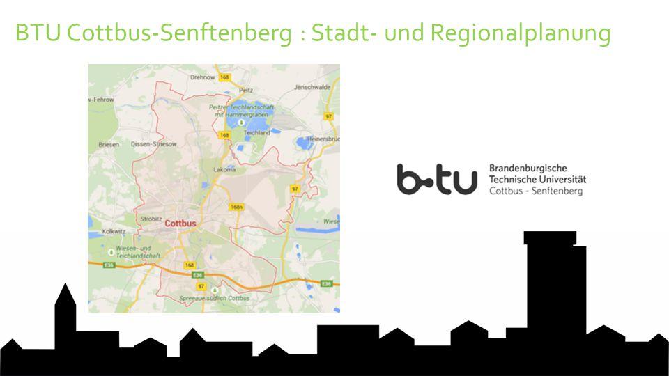 BTU Cottbus-Senftenberg : Stadt- und Regionalplanung