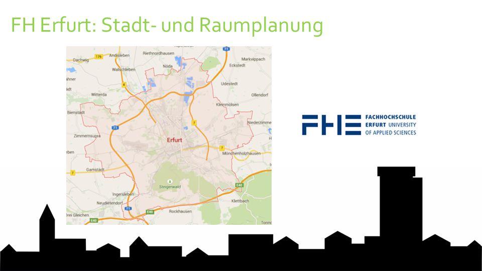 FH Erfurt: Stadt- und Raumplanung