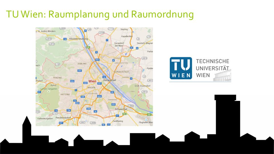 TU Wien: Raumplanung und Raumordnung