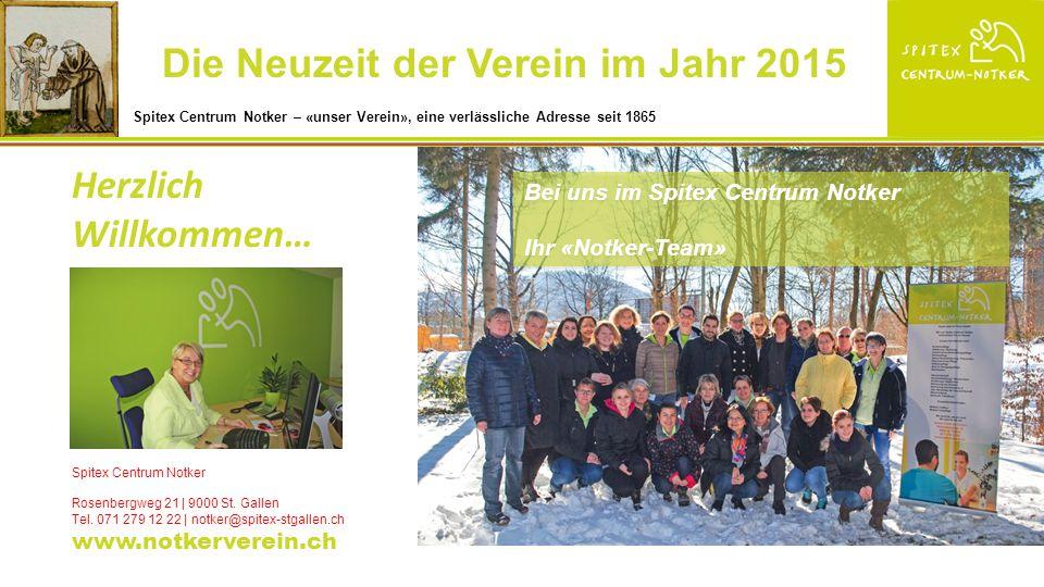 In unserem modern und zeitgemäss ausgebauten Standort der «Spitex Centrum Notker, St.Gallen», in unserem «Stützpunkt» planen, dokumentieren und koordinieren wir die Einsätze.