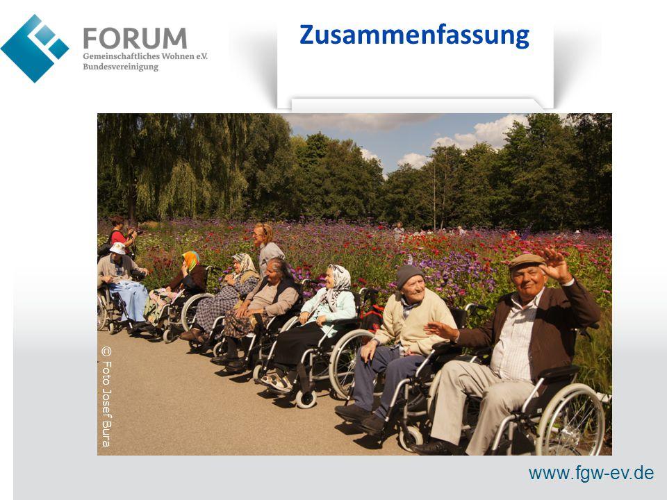www.fgw-ev.de Zusammenfassung © Foto Josef Bura