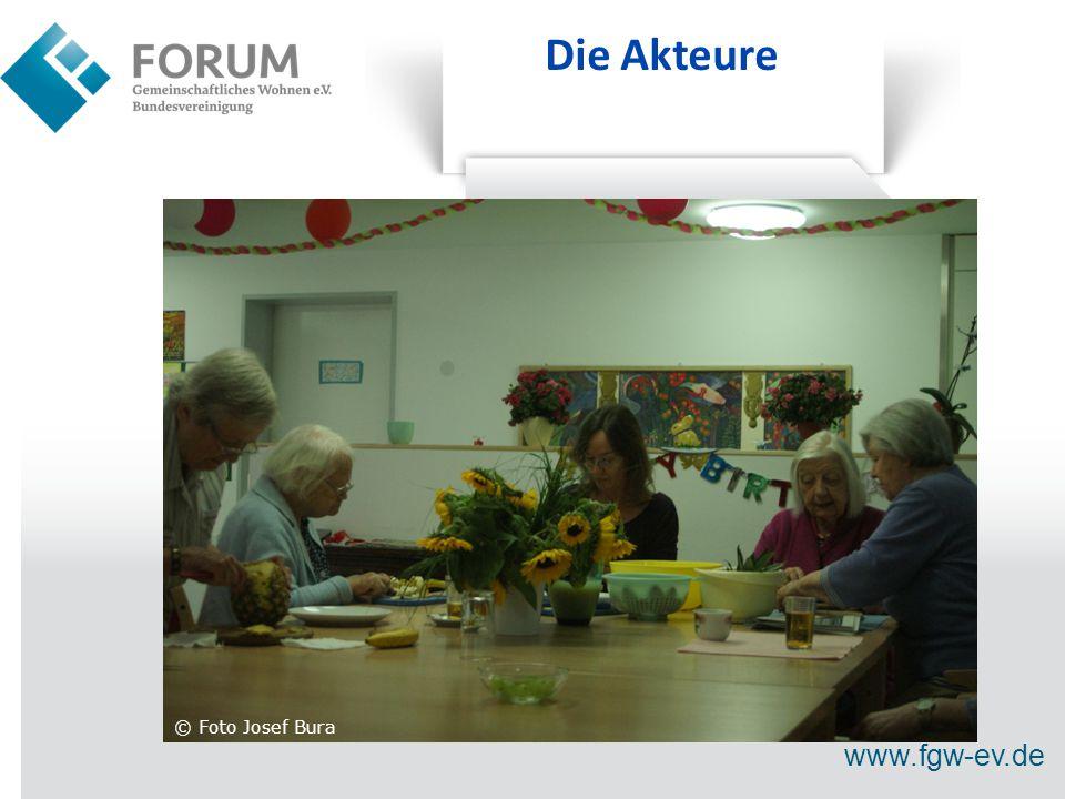 www.fgw-ev.de Die Akteure © Foto Josef Bura