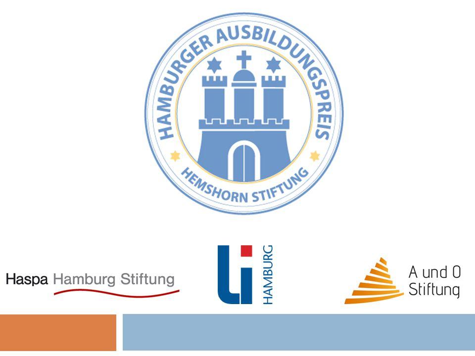 Der Hamburger Ausbildungspreis möchte Schüler/innen der 9.Klassen an Hamburger Schulen in sozial schwierigem Umfeld, motivieren sich intensiv mit den Themen Berufswahl und Ausbildungsweg zu beschäftigen.