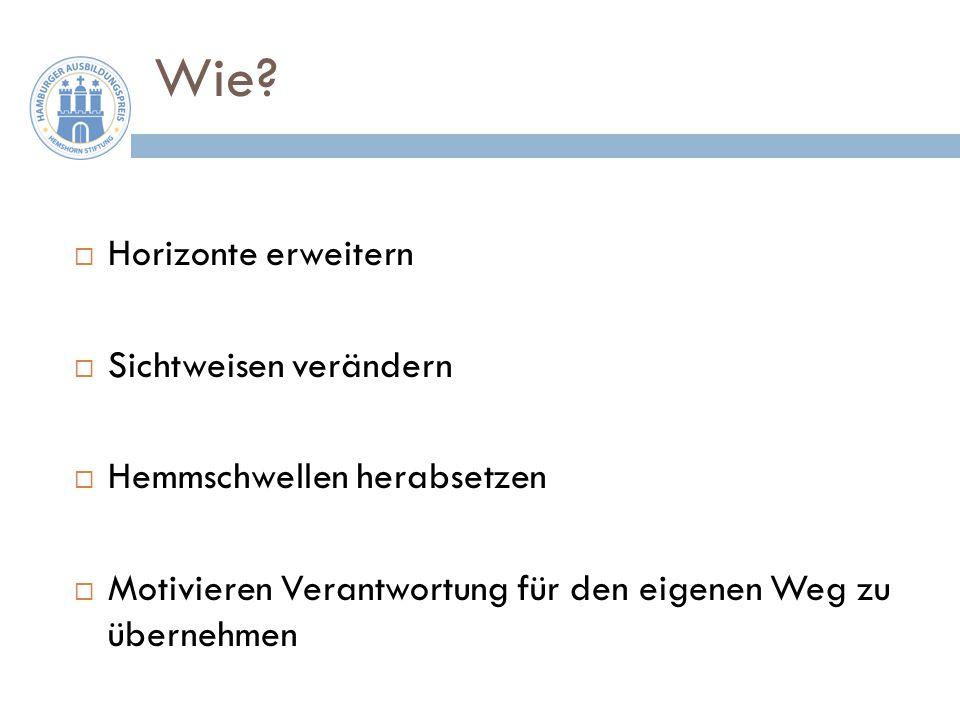 Wir haben uns gefragt, was motiviert Menschen – anders gefragt: Was macht glücklich?