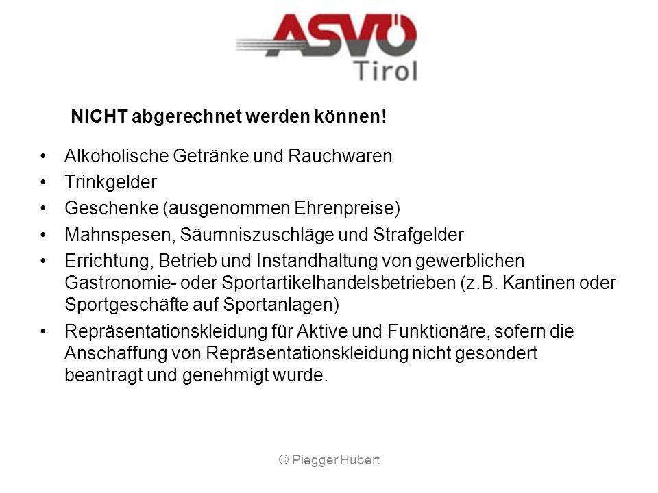 Teilnahme an und Durchführung von Wettkämpfen Eine Förderung kann nur für Jugendmannschaften bis zum 18. Lebensjahr und nur für Österreichische Meiste