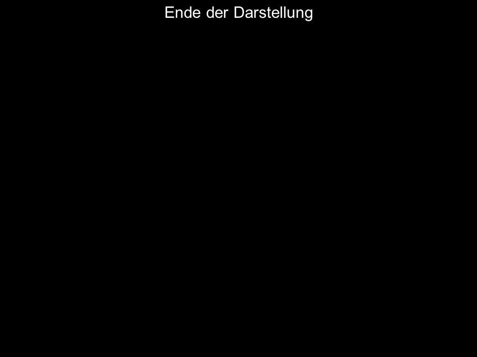 AD W. Wagner, Didaktik der Chemie, Universität Bayreuth Ende der Darstellung