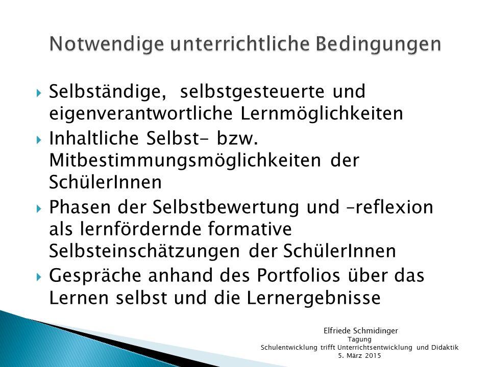  Brunner, I., Häcker, T., Winter, F.(Hrsg.), Das Handbuch Portfolioarbeit.