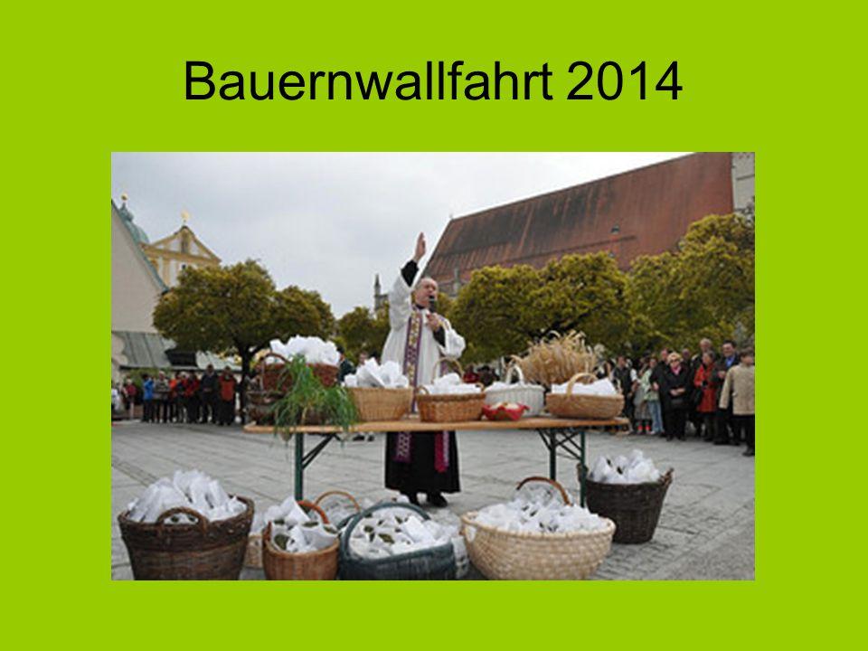 Bauernwallfahrt 2014