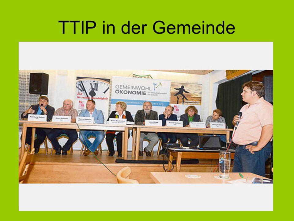 TTIP in der Gemeinde
