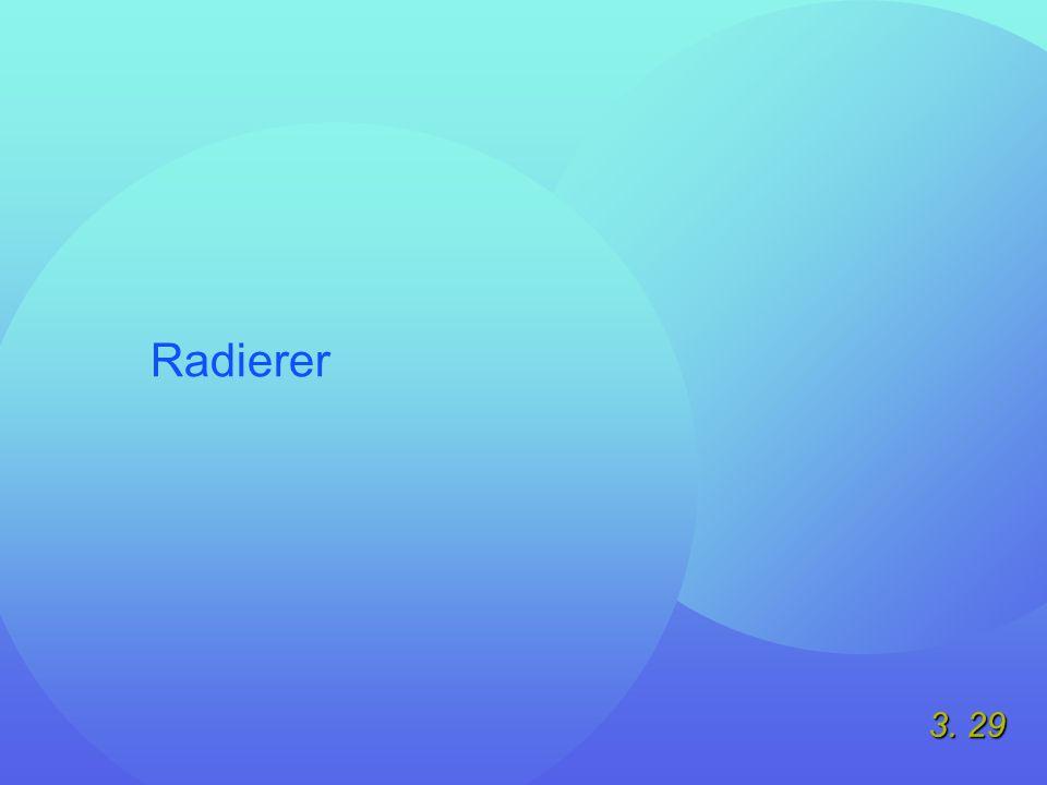 3. 29 Radierer