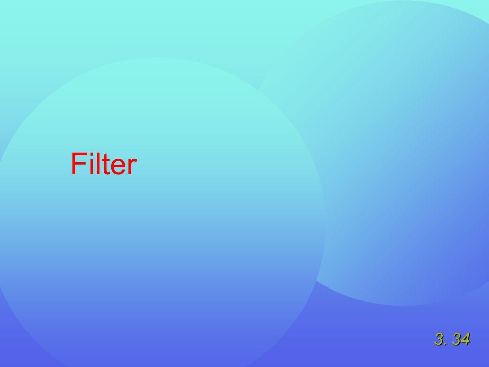 3. 34 Filter