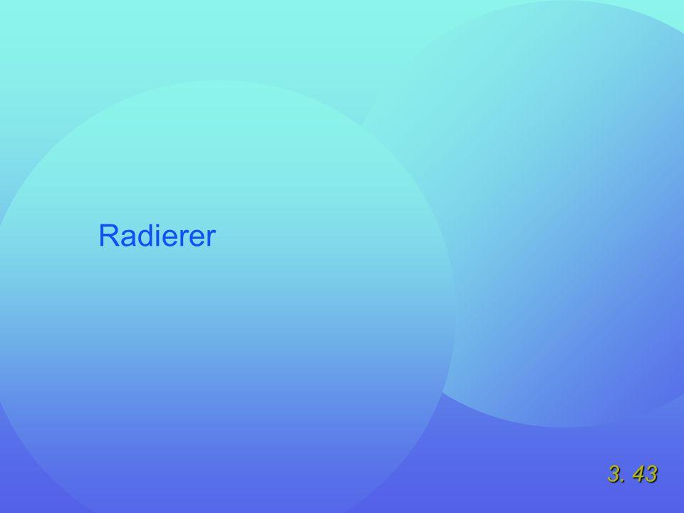 3. 43 Radierer