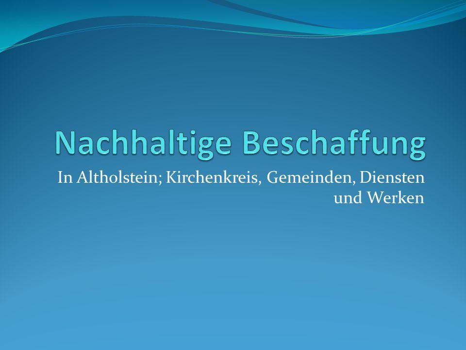In Altholstein; Kirchenkreis, Gemeinden, Diensten und Werken