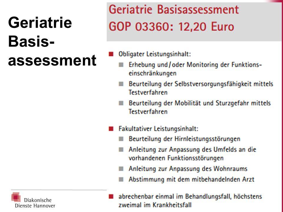 Geriatrie Basis- assessment
