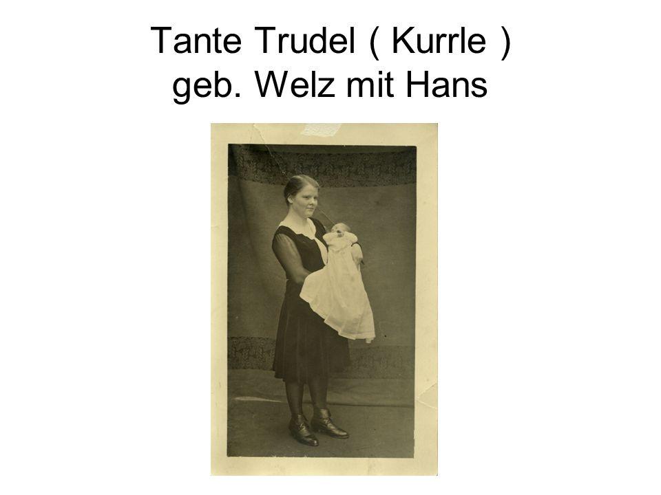 06.10.1928 Happelstr. 55 / 1 Hochzeit Tante Marie u. Onkel Fritz Welz