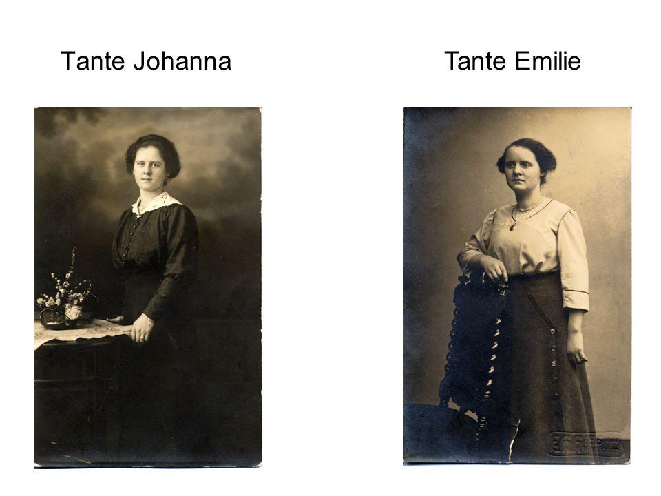 Tante Johanna Tante Emilie