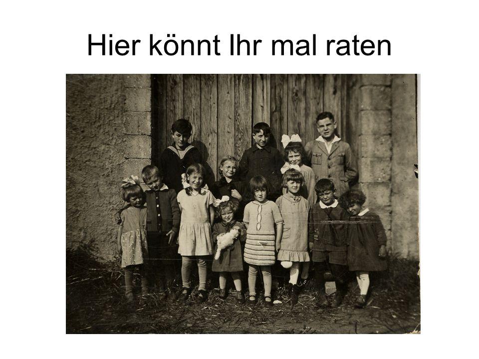 Von Links: Rolf – Elfriede – Inge – Hilde – Heinz