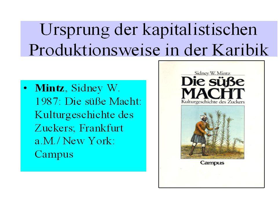 Die Plantage ist als Synthese von Feld und Fabrik zu begreifen.