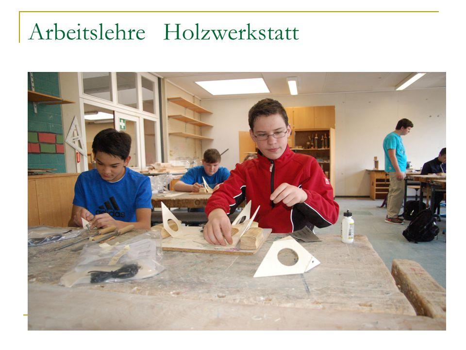 Arbeitslehre Holzwerkstatt