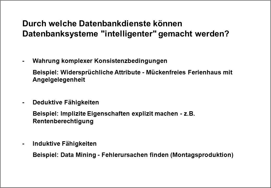 Durch welche Datenbankdienste können Datenbanksysteme