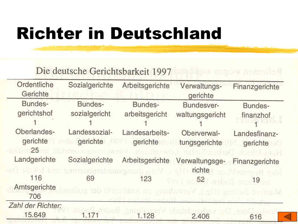 TU Dresden – Institut für Politikwissenschaft – Prof. Dr. Werner J. Patzelt Richter in Deutschland