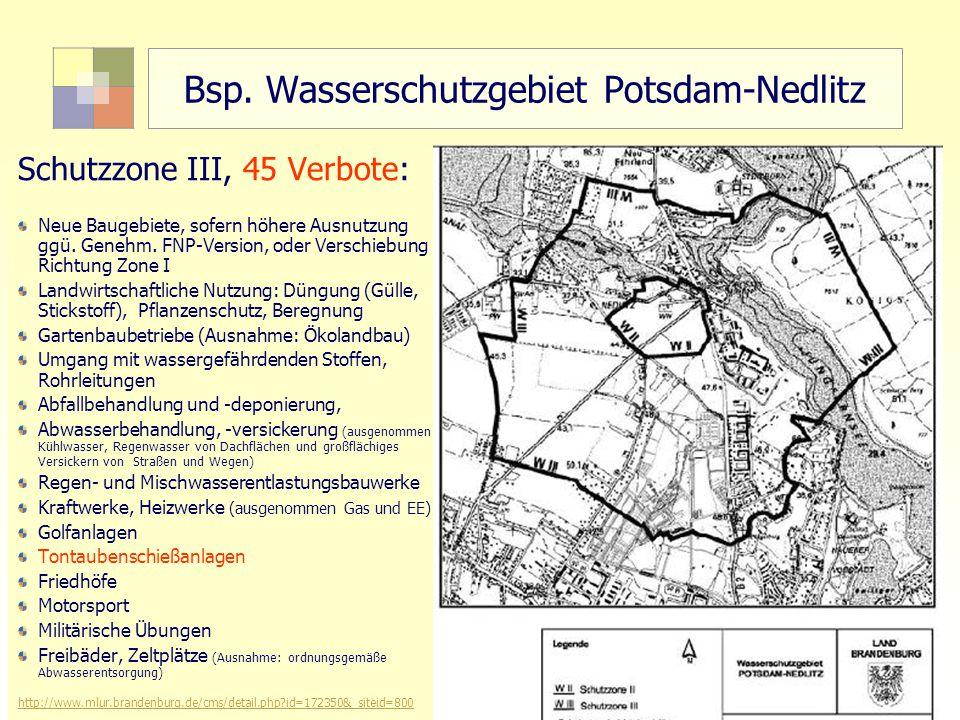 """28 TU Berlin, ISR """"Sektorale Planung I und """"Siedlungswasserwirtschaft Bsp."""