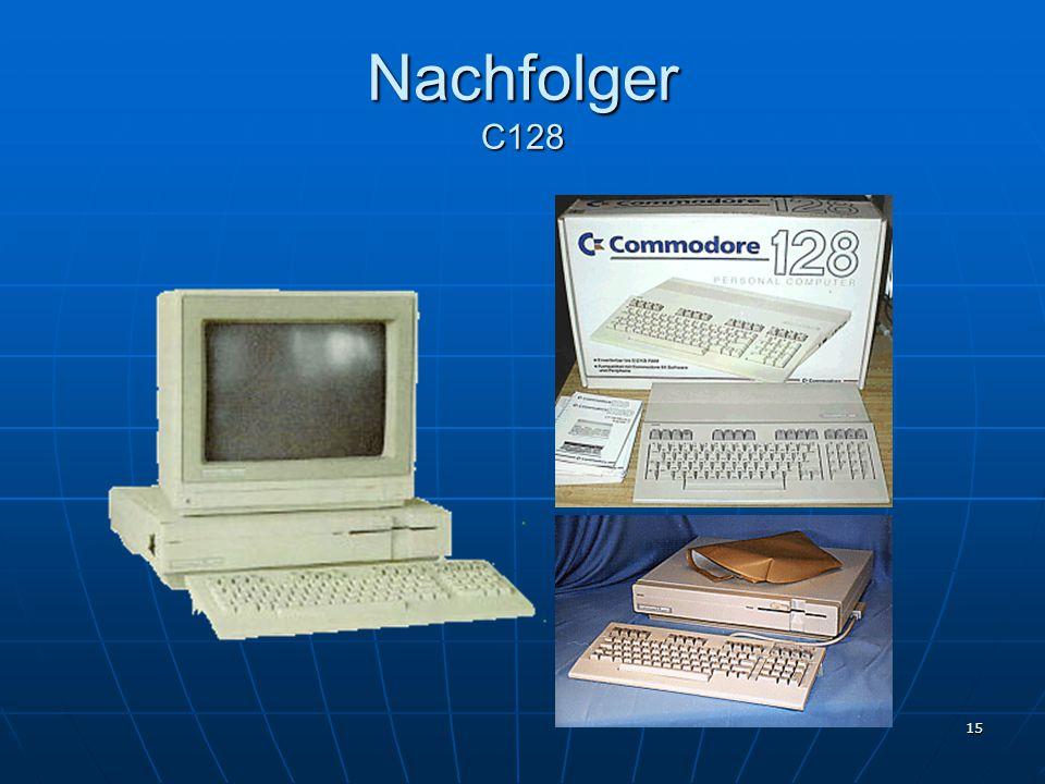 15 Nachfolger C128