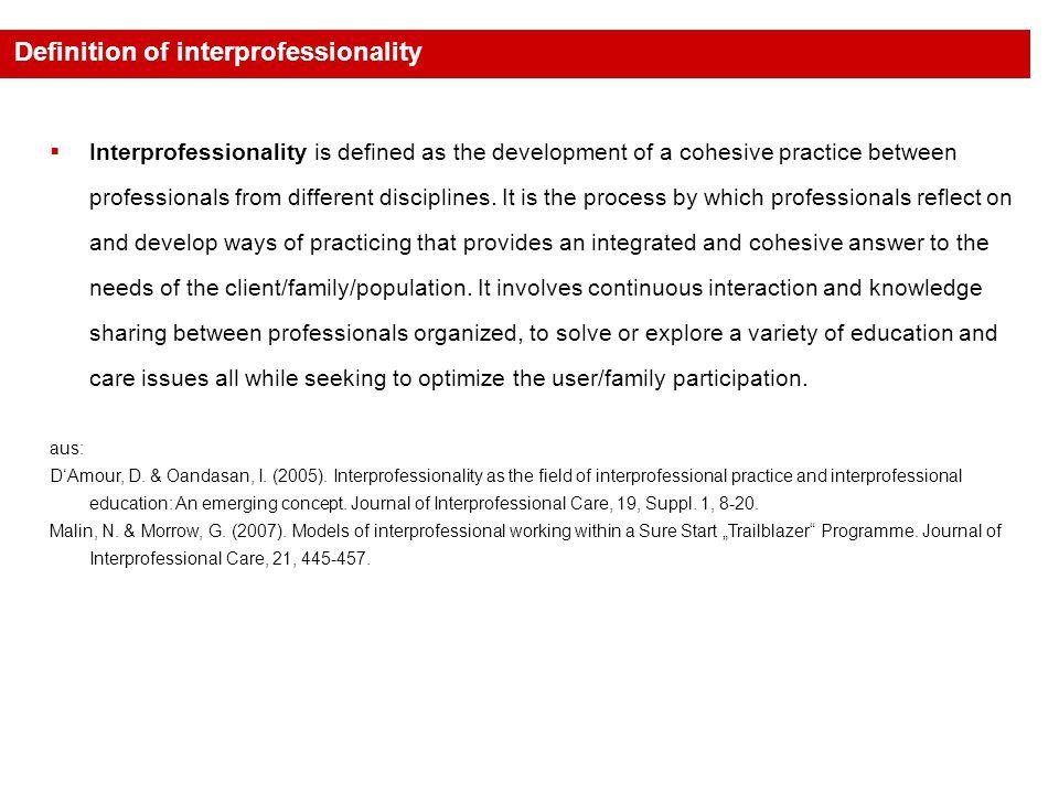 aus: Malin, N.& Morrow, G. (2007).