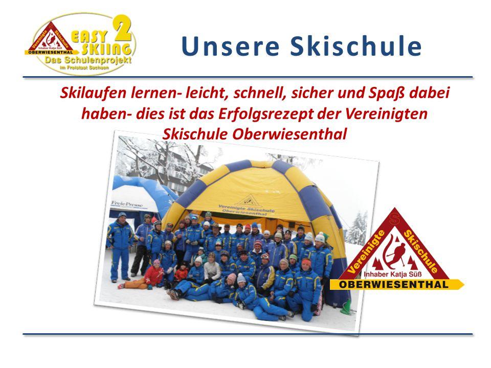 Skilaufen lernen- leicht, schnell, sicher und Spaß dabei haben- dies ist das Erfolgsrezept der Vereinigten Skischule Oberwiesenthal Unsere Skischule