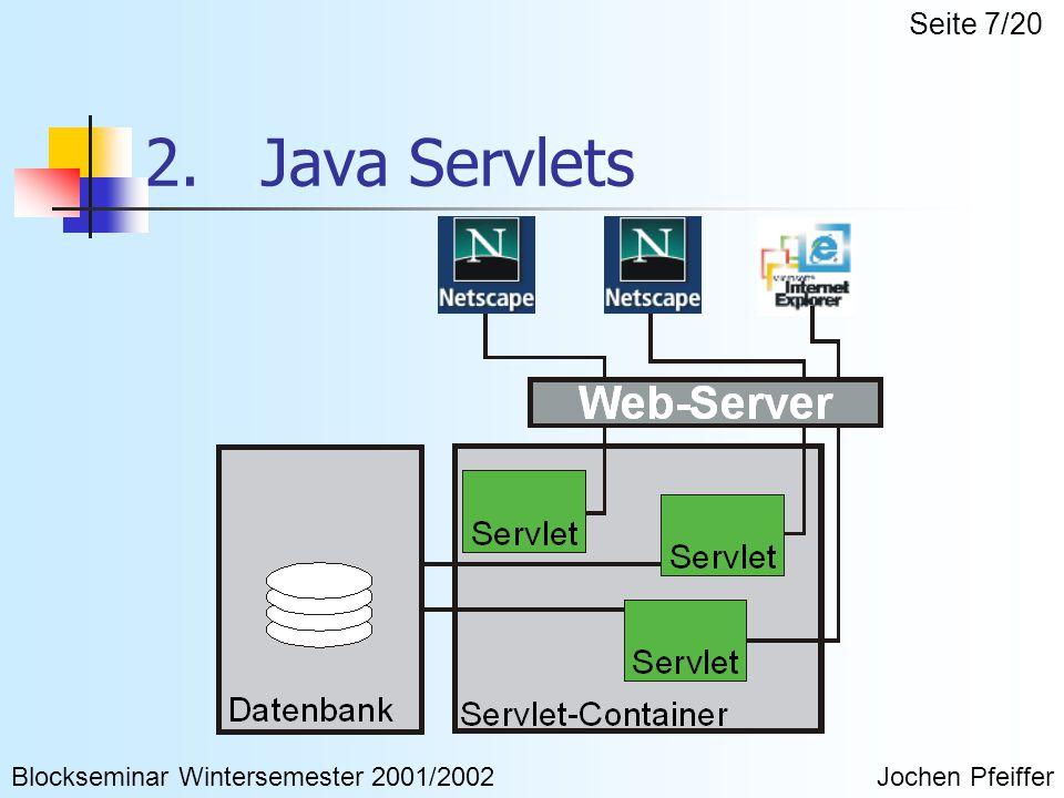 2.Java Servlets Was sind Servlets .