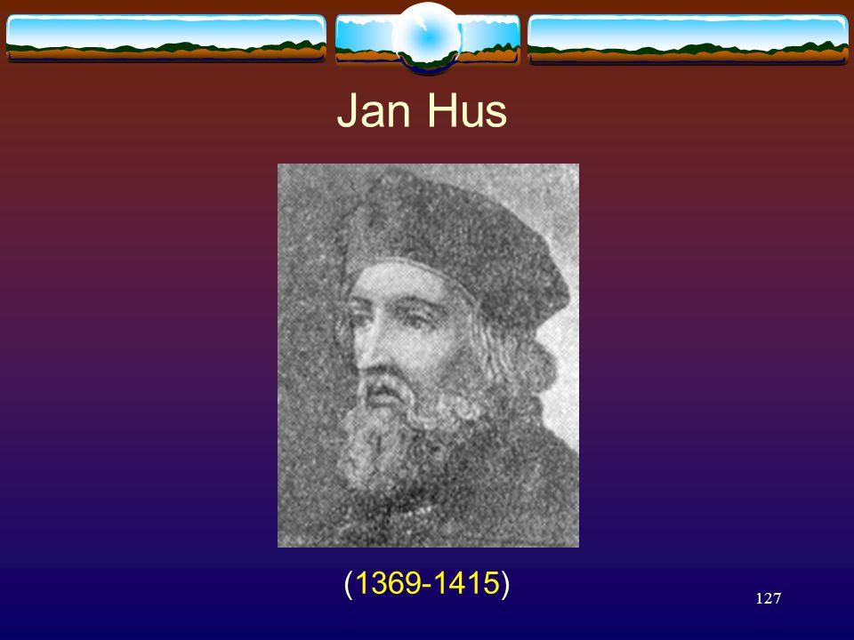127 Jan Hus (1369-1415)