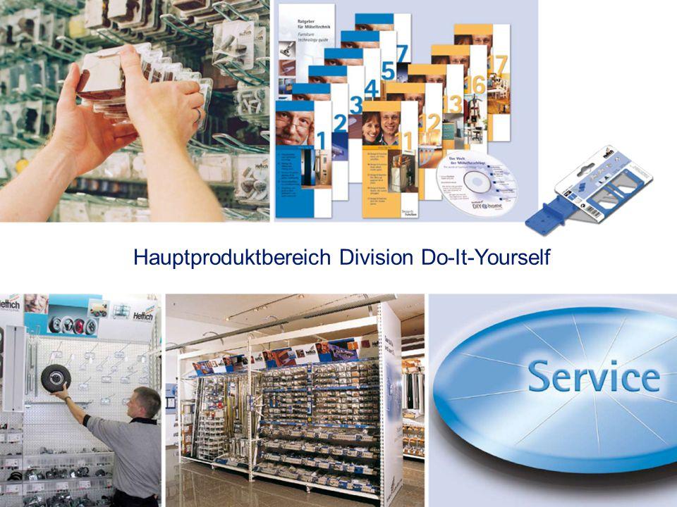 Hauptproduktbereich Division Do-It-Yourself