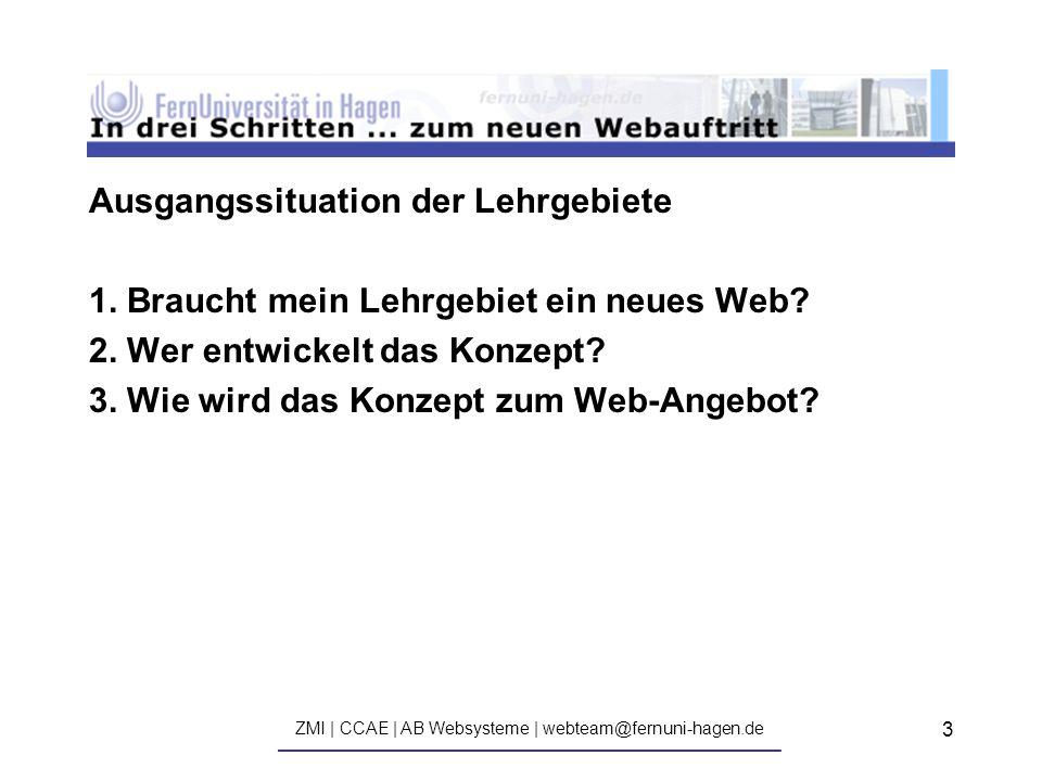 ZMI | CCAE | AB Websysteme | webteam@fernuni-hagen.de ————————————————————————————— 14 Und jetzt: Zeit für Ihre Fragen!