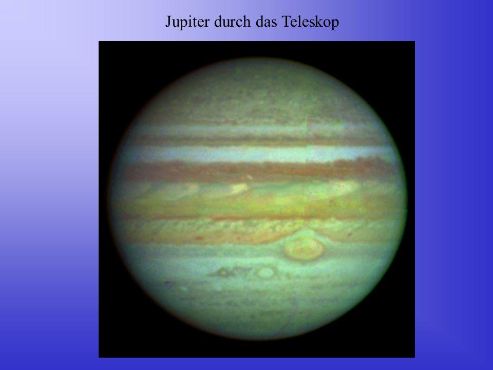 Jupiter durch das Teleskop