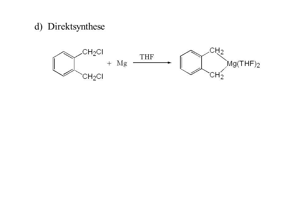 d) Direktsynthese
